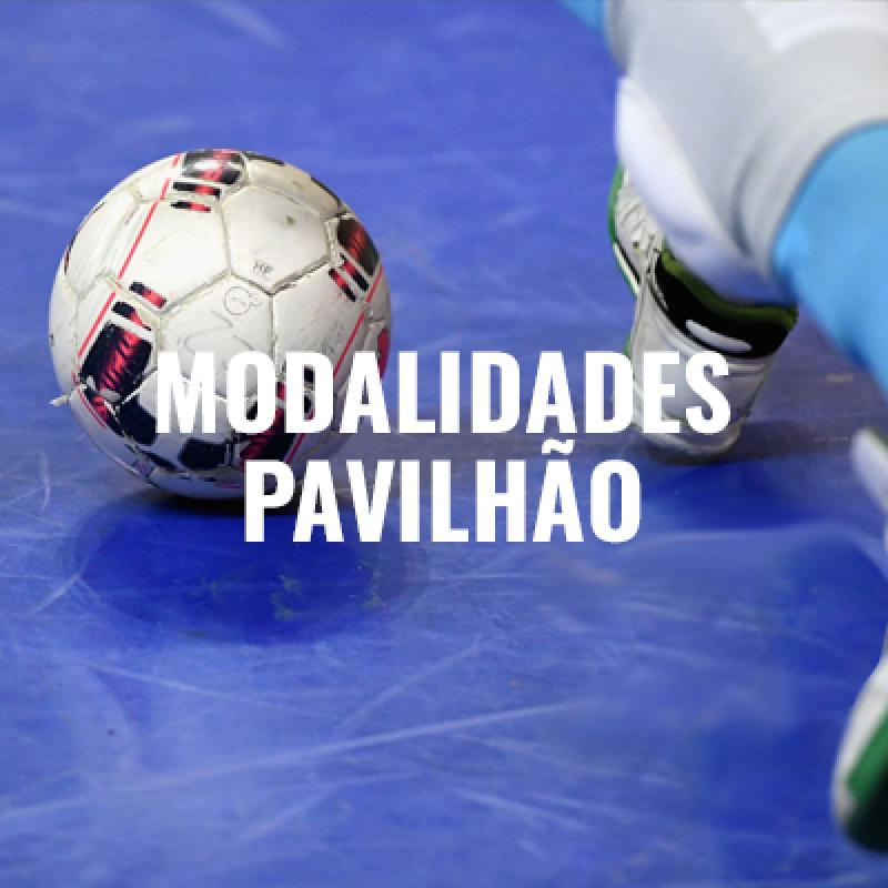MODALIDADES PAVILHÃO